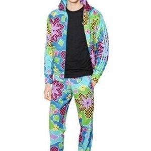 2b8b4e71aa3f8 adidas Sweaters - Jeremy Scott x Adidas Psychedelic Floral Jacket